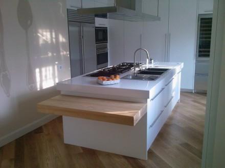 Isola-Top Cucina Bianco Zeus | SIRONI MARMI